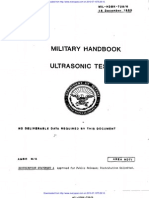 Mil Hdbk Ultrasonic Testing