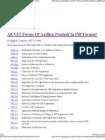 All VAT Forms of Andhra Pra...