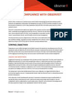 Iso 27001 Compliance With Observeit