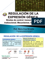 10.REGULACIÓN GÉNICA