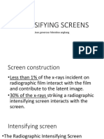 Intensifying Screens Review