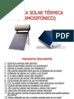 Energia Solar Termica Termosifon