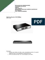 Especificacione de Comunicaciones