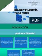 ARENDIZAJE Y FILOSOFÍA PARA NIÑOS SESION 1.pptx