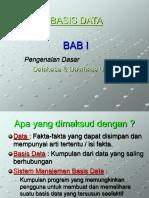 Basis-data Pertemuan 1