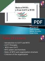 GATT to WTO Pesentation
