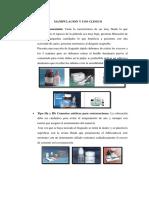Manipulacion y Uso Clinico Ionomero de Vidrio