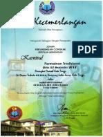 sijil congkak