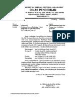 Undangan Peserta Bimtek Penguatan Program PMK Angkatan 9 Dan 10
