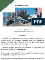 Formulation Du Béton