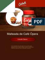 Malteada de Cafe