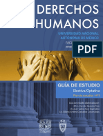 Derechos Humanos 1 Semestre