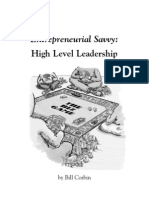 Bill Corbin - Entrepreneurial Savvy - High Level Leadership