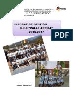 Informe de Gestión 2017-2018