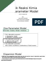 Teknik Reaksi Kimia_One Paramter Model-1