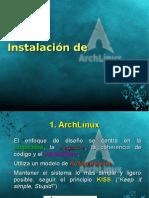 ArchLinux InstalaciónV1