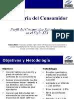 Perfil Del Consumidor Salvadoreño en El Siglo XXI (General DC)