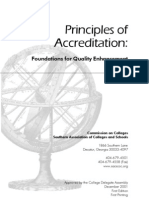Principles of Accreditation Sacs