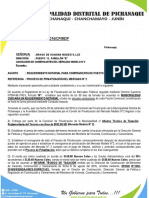 Carta Notarial Municipalidad de Pichanaki