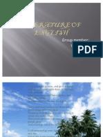 Literature of English