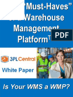 L11 Warehouse 7 Must-Haves of WMS