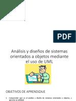 Analisi y Sistema Sorientados a Objetos