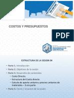2. Presentación de La Sesión 4 Costos y Presupuestos - Rocío Otoya