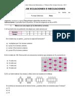 Prueba de Patrones y Algebra Agosto - Adaptada