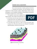 Seismic Data Acquisition