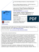 Food Product Journal 1