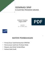 Diseminasi Spap 23-24 April 2015 - Sa 600_godang p. Pandjaitan