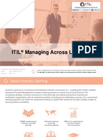 ITIL Managing Across Lifecycle - Invensis Learning