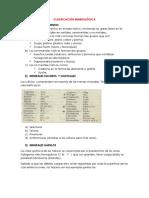 CLASIFICACIÓN MINERALÓGICA.docx