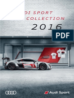 Audi Sport Collection Catalogue