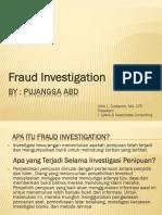 Investigation Fraud