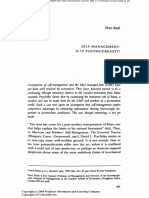 Abell 1995 Self-Management - Is It Postmodernist