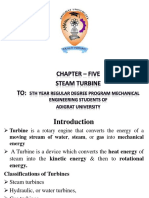 Chapter-5 Steam Turbine