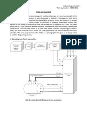 X Ray Machine | Vacuum Tube | Rectifier | X Ray Machine Block Diagram Pdf |  | Scribd