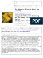 Male Youth and Voluntary Counseling and HIV-Testing_the Case of Malawi and Uganda