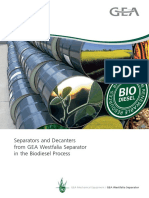 Biodiesel Process Separators Decanters 9997 1279 020