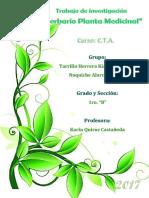 Caratula de Herbario