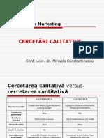 Cerc (ID) - Curs 9 (Cerc Calitative - Metode)