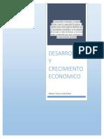 Desarrollo y Crecimiento Economico