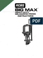 Lee BigMax Instructions