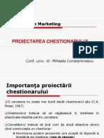 Cerc (ID) - Curs 6 (Chestionar)