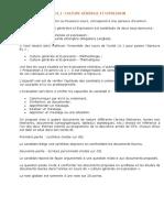 Culture Generale Et Expresion Methodologie Presentation Du Cours