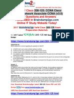 (2017-November-New)Braindump2go 200-125 PDF and VCE Dumps 929Q&as Free Share(181-191)