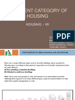 Different Category of Housing