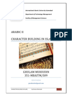 46036786 Character Building in Islam