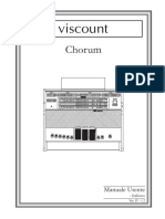 Chorum IT (IT) v12 manuale utente viscount